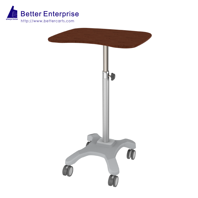 Height Adjustable Light Duty Computer Cart
