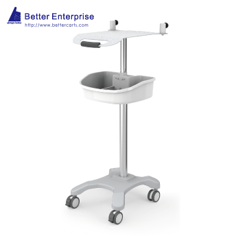 Height Adjustable EKG Cart