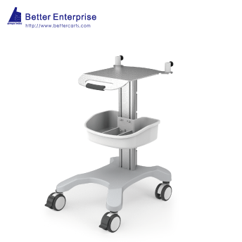 Fixed Height EKG Cart Premium