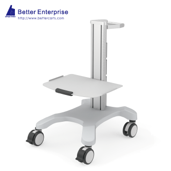 Mobile Equipment Cart Mini with 1 Shelf