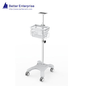 Fixed Angle Medical Roll Stand (4-Leg Base)