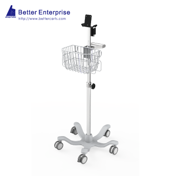 "Vital Signs Monitor Roll Stand (24"" Base)"