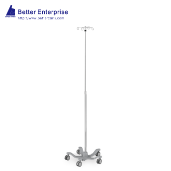 Telescoping IV Stand (Locking Collar)