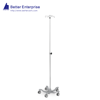 Telescoping IV Stand (Knob Lock)
