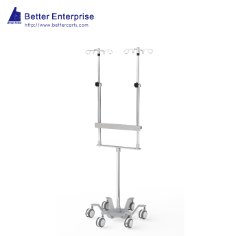 Dual Pole Heavy Duty Infusion Pump Stand