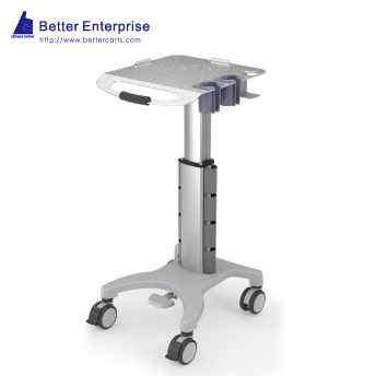 Ultrasound Cart (Height Adjustable with 2 Probe Holders)